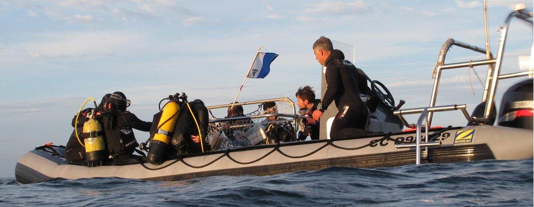 Plongée sous marine au large du Croisic